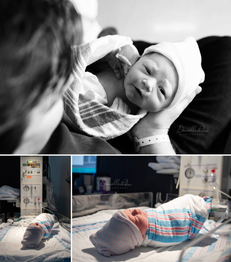 Welcoming Baby Girl | Fresh 48 Hospital Photography Mobile AL | Danielle Parker Photography