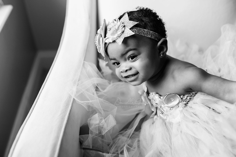 Happy Girl Just Turned One | Mobile, AL Baby Photography | Danielle Parker Photography