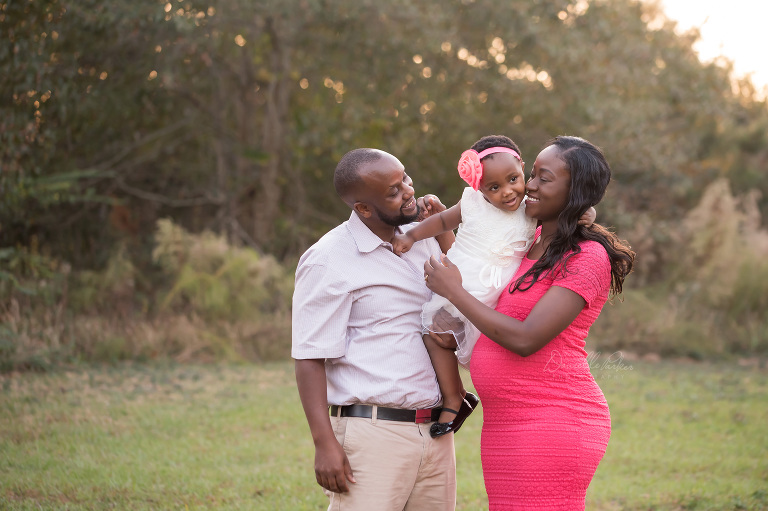 Expecting Another Baby Girl | Danielle Parker Photography | Mobile, AL