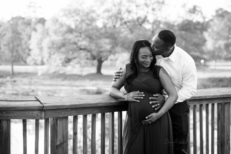 Happy Couple Expecting Baby Girl | Danielle Parker Photography | Mobile, AL