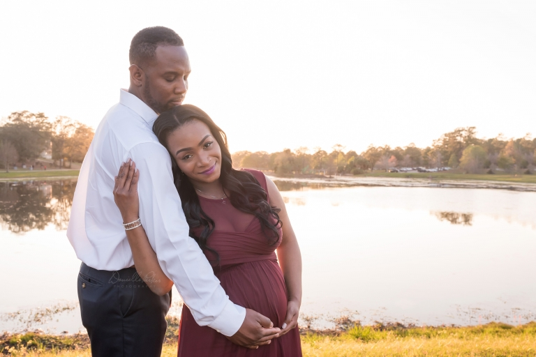 Happy Couple Dreaming in Pink | Danielle Parker Photography | Mobile, AL