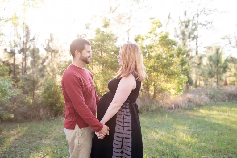 Sunset Maternity Photo | Danielle Parker Photography