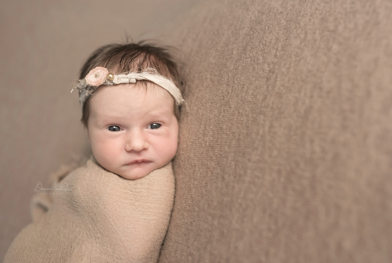 8 Day New Baby Girl | Danielle Parker Photography | Mobile At Home Newborn Photographer