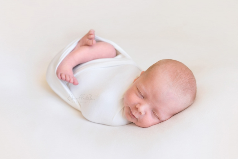 Blonde Baby Boy | Newborn Photography Pensacola, FL