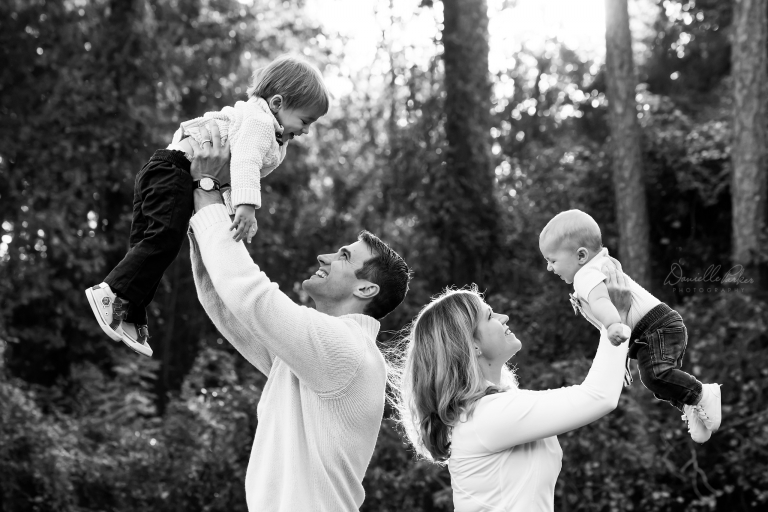 Fall Family Sunset Session | Mobile, AL Family Photography