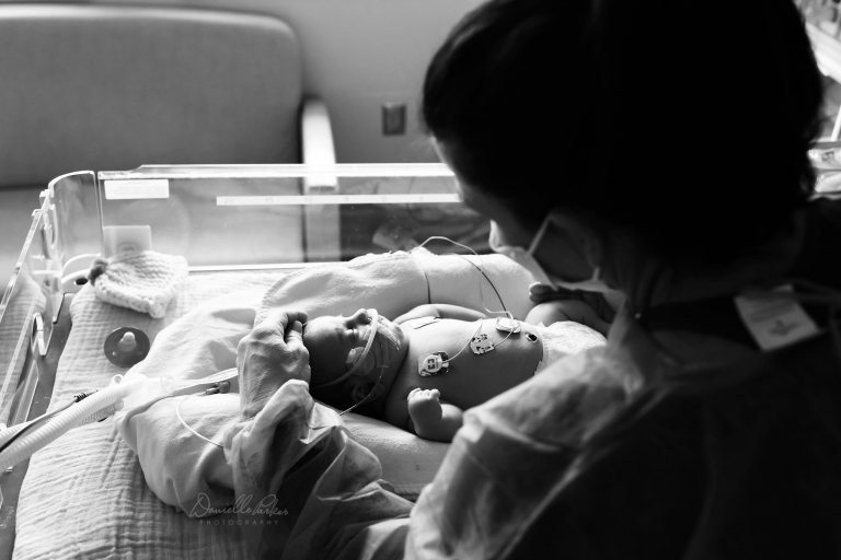 Tiny Footprints | NICU Hospital Session | Danielle Parker Photography | Mobile, AL